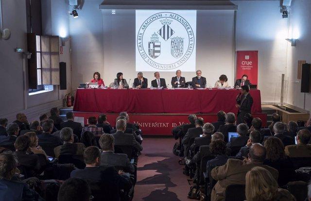 La Universitat De València Acull L'assemblea De La Crue Universitats Espanyoles