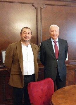 F.Torres (UPC) y A.Abad (Cecot)