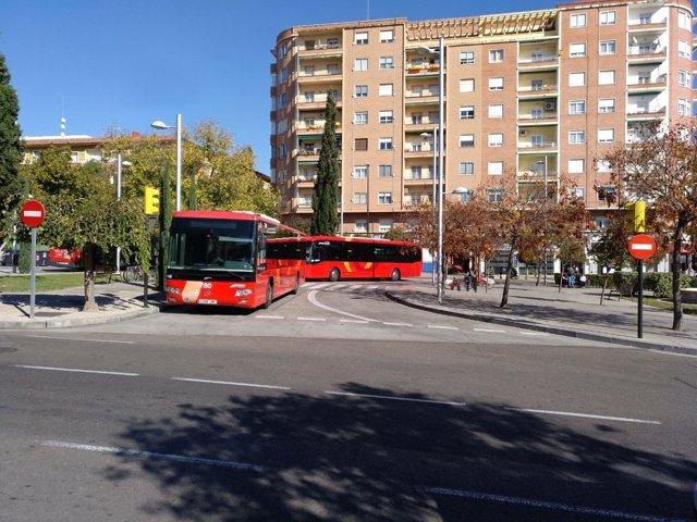 Autobuses metropolitanos.