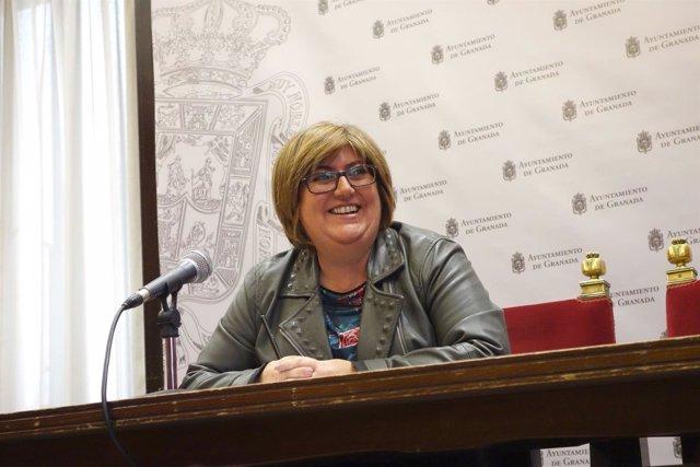 La concejal de Presidencia, Ana Muñoz