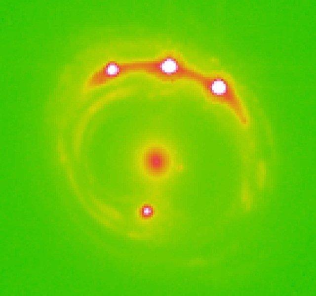 Quásares detectados en la observación con Chandra