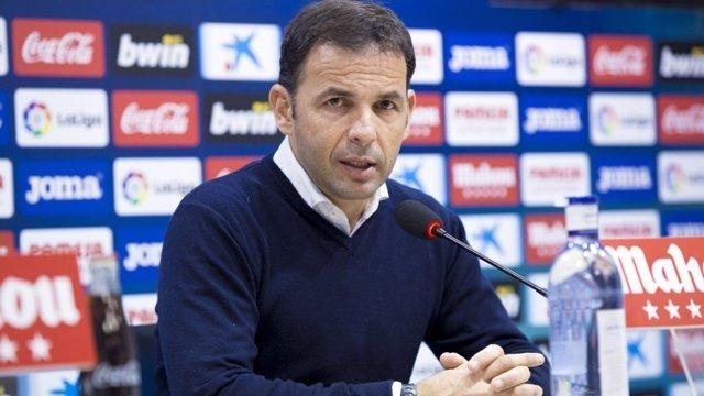 El entrenador del Villarreal CF, Javier Calleja