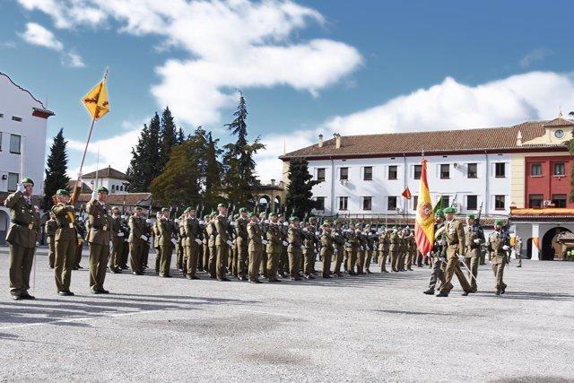 Día de la AALOG 21, en el acuartelamiento de Cervantes