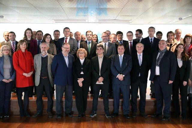 Foro de Empresas de Madrid con presencia de Manuela Carmena