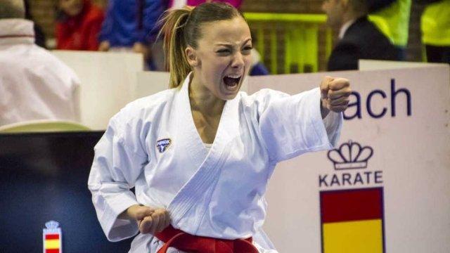 La karateca española Lidia Rodríguez