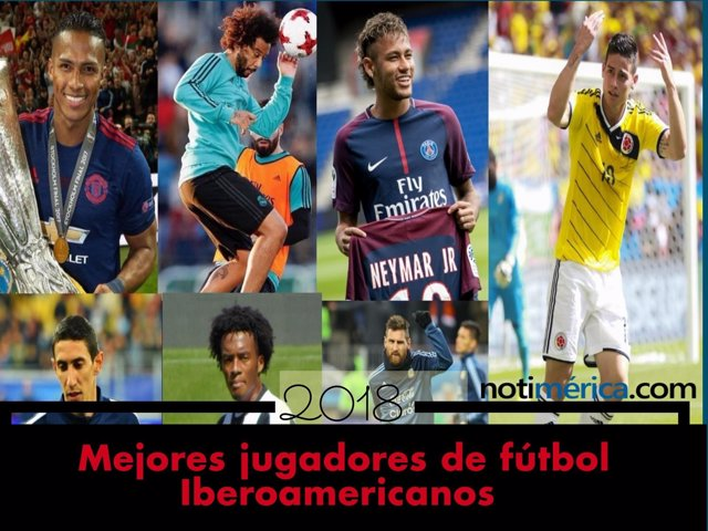 Futbolistas iberoamericanos que juegan en Europa