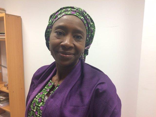 Fatima Imam,  abogada y activista nigeriana