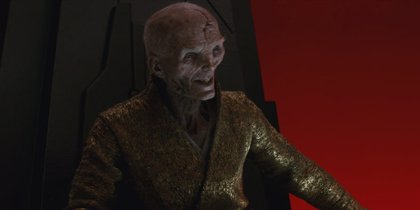 ¿Aparecerá Snoke en Star Wars 9? Andy Serkis responde