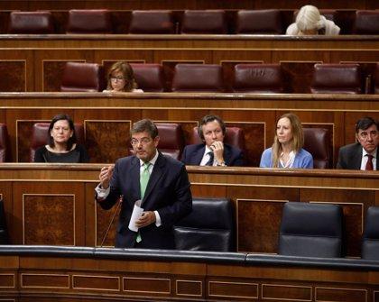 El ministro Catalá dice que está de acuerdo con Cs en el sistema de elección del CGPJ y llama a negociar con el PSOE