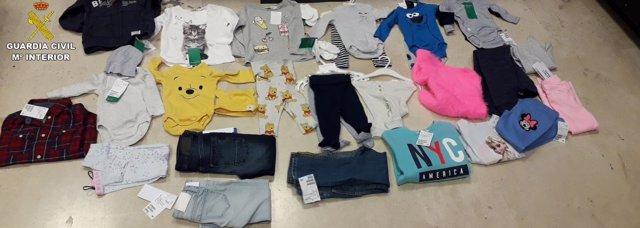 Detenida una mujer en Rivas por robar ropa y ocultarla simulando un embarazo