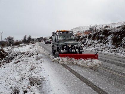 La Aemet activa el aviso amarillo por nevadas para este domingo en el Noroeste