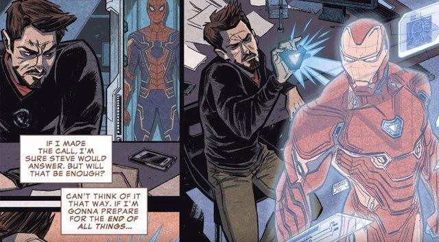 Comic de Vengadores: Infinity War