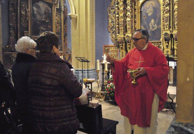 Conmemoración de San Blas en Teruel.