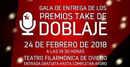Los 'Premios TAKE' de doblaje se entregan en Oviedo