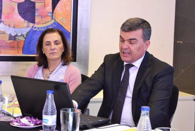 Carlos Ferrer, presidente SEOR, y María Luisa Chapel, presidenta SEFM