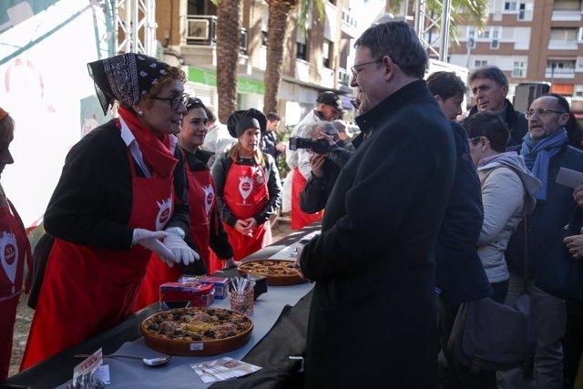 Puig visita la Fira de Sant Blai en Torrent