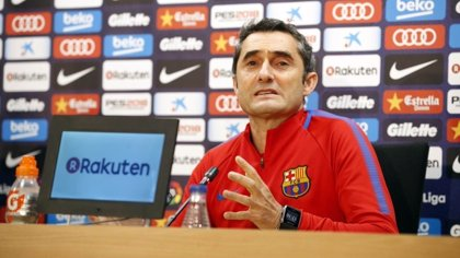 """Valverde: """"No me quiero tranquilizar, es un pensamiento erróneo y queda mucha Liga"""""""