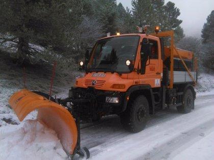 Fomento prepara 853 quitanieves para frente a las nevadas en ocho CCAA, entre ellas C-LM