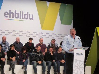 """EH Bildu reafirma su compromiso con el """"cambio"""" en Navarra """"por encima de intereses partidistas"""""""