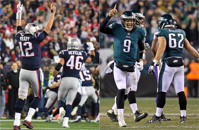 New England Patriots Philadelphia Eagles Super Bowl