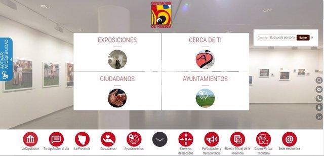 Contenidos digitales de la Diputación de Huesca.