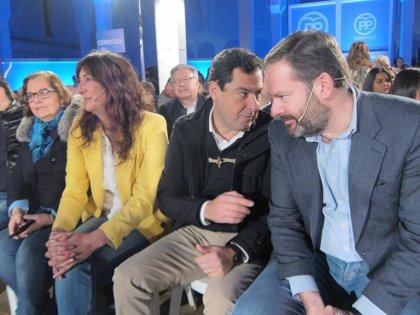 "Moreno: En las autonómicas, ""David (PP-A) se tendrá que enfrentar a Goliat (PSOE-A)"""