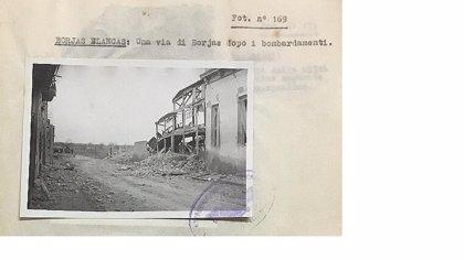 Estado ejercerá derecho de tanteo en el documento sobre bombardeos de aviación italiana en Cataluña durante Guerra Civil