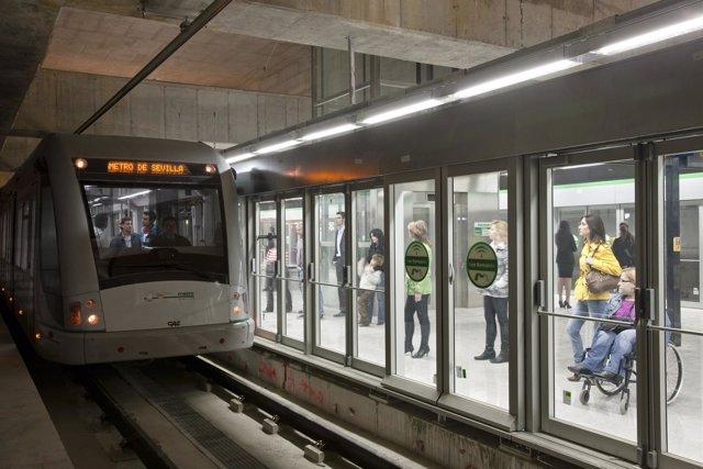 El metrro de Sevilla afronta la recuperación de las obras.