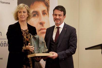 """Valls cree que """"el patriotismo y la nación española son las palabras necesarias para ser más fuertes en Europa"""""""
