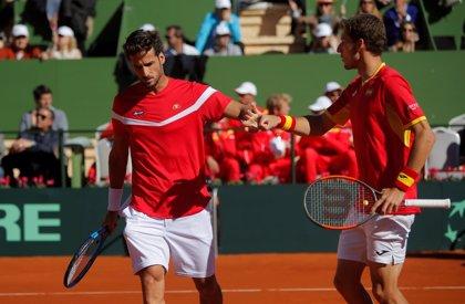 Carreño y Feliciano López adelantan a España en el dobles ante Gran Bretaña