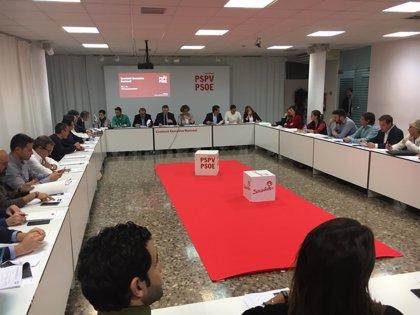 El PSPV acata la decisión de Ferraz sobre el censo de primarias pero pide mejorar la afiliación para evitar distorsiones