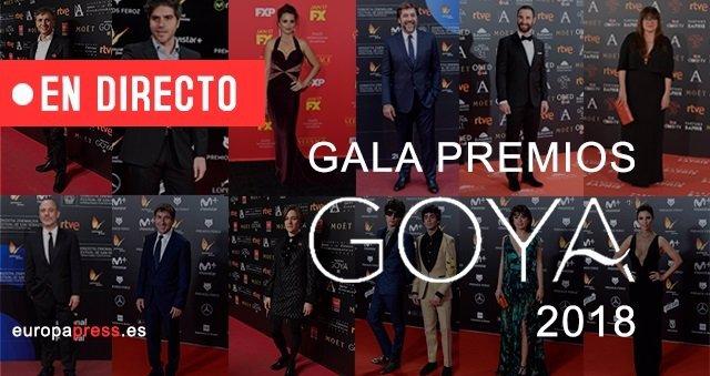 Directo premios Goya