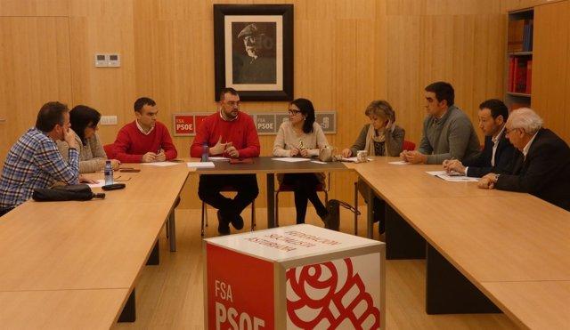 REUNIÓN DE LA FSA-PSOE