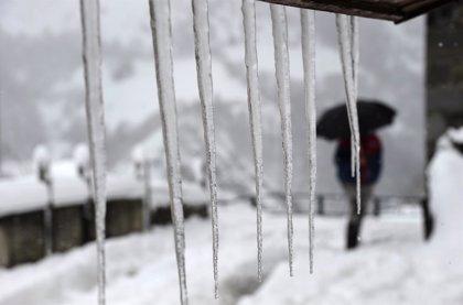 La nieve y el frío pondrán en aviso este domingo a 31 provincias