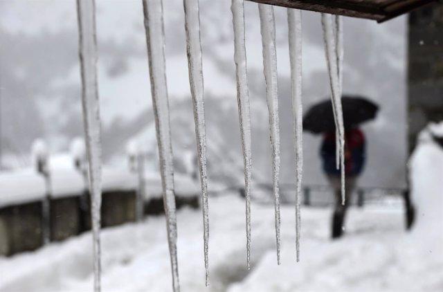 Nieve en España, temporal, ola de frío