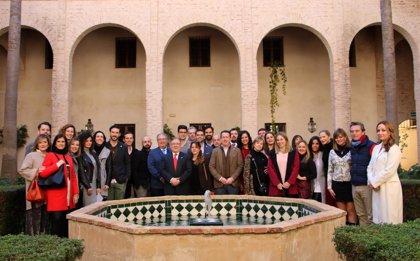 Podólogos andaluces homenajean en Sevilla a más de un centenar de sus profesionales de las ocho provincias