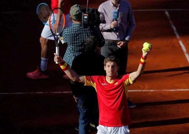 Pablo Carreño Copa Davis España Gran Bretaña