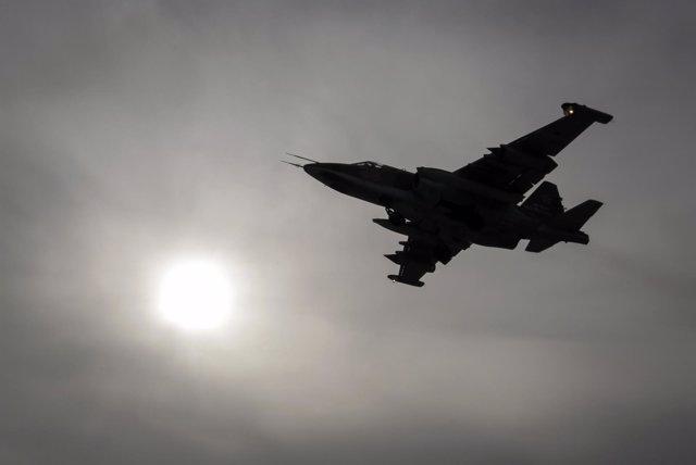 Avión de combate Sukhoi Su-25