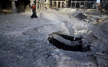 El Gobierno de Siria niega que esté usando armas químicas en Ghuta Oriental