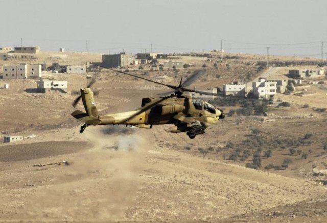 Helicóptero de ataque de Israel