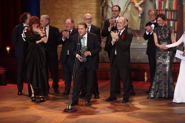 Resultado de imagen de ganadores mejor pelicula de los goya 2018