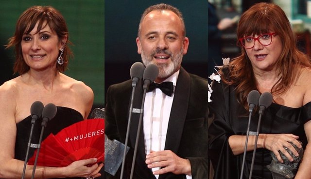 Resultat d'imatges de ganadores goya 2018