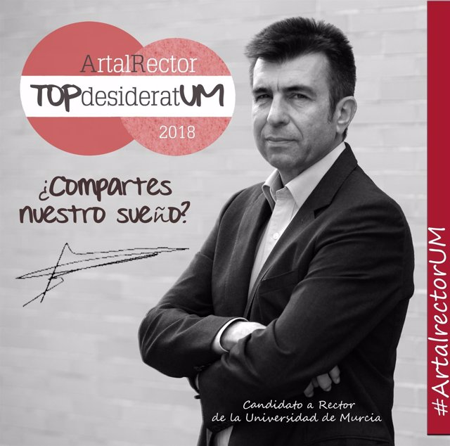 Cartel de la campaña de Pablo Artal
