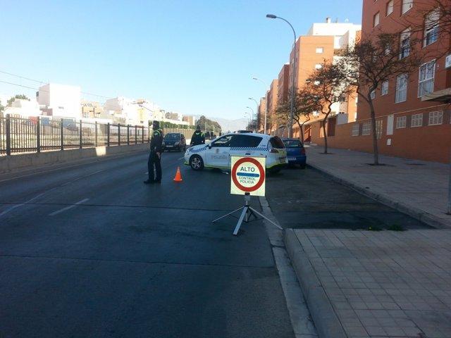 Control de Policía Local de Almería