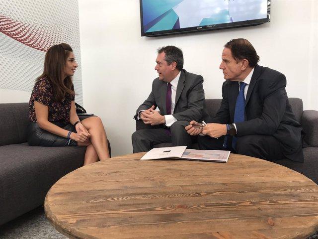 El alcalde de Sevilla, Juan Espadas, participa en Chile en el Smart Cities Forum