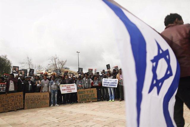 Refugiados africanos en Jerusalén