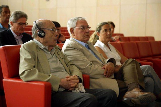ÚFèlix Millet, Jordi Montull y Gemma Montull en la última sesión del juicio