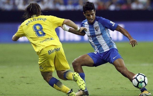 Roberto Rosales Alen Halilovic Las Palmas Málaga
