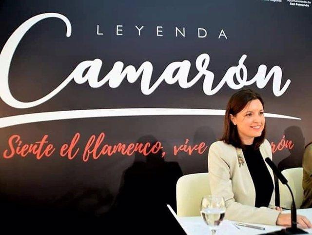 Patricia Cavada, alcaldesa de San Fernando