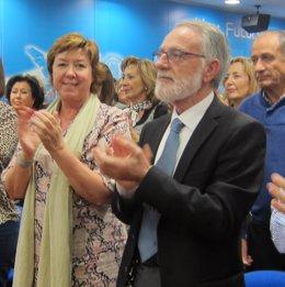 Pilar Barreiro y Francisco Celdrán